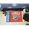 "FANMATS NBA - Oklahoma City Thunder Uniform Inspired Starter Rug 19""x30"""