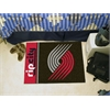 "FANMATS NBA - Portland Trail Blazers Uniform Inspired Starter Rug 19""x30"""