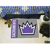 "FANMATS NBA - Sacramento Kings Uniform Inspired Starter Rug 19""x30"""