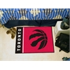 "FANMATS NBA - Toronto Raptors Uniform Inspired Starter Rug 19""x30"""
