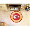 FANMATS NFL - Kansas City Chiefs Roundel Mat