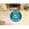 FANMATS NFL - Miami Dolphins Roundel Mat