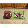 "FANMATS NFL - Arizona Cardinals Scraper Mat 19""x30"" - Ball"
