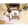 """FANMATS Texas State Baseball Mat 27"""" diameter"""