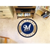FANMATS MLB - Milwaukee Brewers Roundel Mat