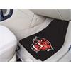 """FANMATS Davenport 2-piece Carpeted Car Mats 17""""x27"""""""
