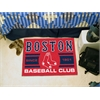 "FANMATS Boston Red Sox Baseball Club Starter Rug 19""x30"""