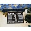 "FANMATS Chicago White Sox Baseball Club Starter Rug 19""x30"""