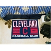 "FANMATS Cleveland Indians Baseball Club Starter Rug 19""x30"""