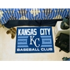 "FANMATS Kansas City Royals Baseball Club Starter Rug 19""x30"""