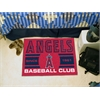 "FANMATS Los Angeles Angels Baseball Club Starter Rug 19""x30"""