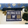 "FANMATS Milwaukee Brewers Baseball Club Starter Rug 19""x30"""