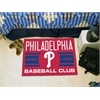 "FANMATS Philadelphia Phillies Baseball Club Starter Rug 19""x30"""