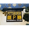 "FANMATS Pittsburgh Pirates Baseball Club Starter Rug 19""x30"""