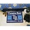 "FANMATS Tampa Bay Devil Rays Baseball Club Starter Rug 19""x30"""