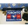 "FANMATS Toronto Blue Jays Baseball Club Starter Rug 19""x30"""