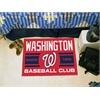 "FANMATS Washington Nationals Baseball Club Starter Rug 19""x30"""