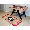 "FANMATS Georgia Basketball Court Runner 30""x72"""