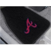 FANMATS MLB - Atlanta Braves 2-pc Embroidered Car Mat Set