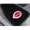 FANMATS MLB - Cincinnati Reds 2-pc Embroidered Car Mat Set