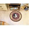 FANMATS Florida State University Roundel Mat