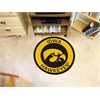 FANMATS University of Iowa Roundel Mat