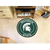 FANMATS Michigan State University Roundel Mat