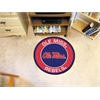 FANMATS University of Mississippi (Ole Miss) Roundel Mat