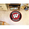 FANMATS University of Wisconsin Roundel Mat