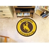 FANMATS University of Wyoming Roundel Mat