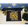 "FANMATS Kennesaw State Starter Rug 19""x30"""