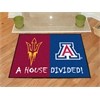 "FANMATS Arizona State / Arizona House Divided Rug 33.75""x42.5"""