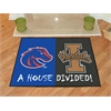 "FANMATS Boise State  /  Idaho House Divided Rug 33.75""x42.5"""