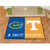 "FANMATS Florida / Tennessee House Divided Rug 33.75""x42.5"""