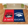 "FANMATS UNLV / Nevada House Divided Rug 33.75""x42.5"""