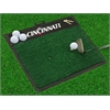 "FANMATS Cincinnati Golf Hitting Mat 20"" x 17"""