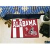 "FANMATS Alabama Uniform Inspired Starter Rug 19""x30"""