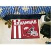 "FANMATS Arkansas Uniform Inspired Starter Rug 19""x30"""
