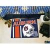 "FANMATS Auburn Uniform Inspired Starter Rug 19""x30"""