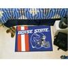 """FANMATS Boise State Uniform Inspired Starter Rug 19""""x30"""""""