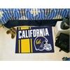 "FANMATS UC Berkeley Uniform Inspired Starter Rug 19""x30"""