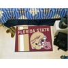 "FANMATS Florida State Uniform Inspired Starter Rug 19""x30"""