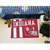 "FANMATS Indiana Uniform Inspired Starter Rug 19""x30"""