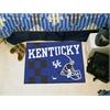 """FANMATS Kentucky Uniform Inspired Starter Rug 19""""x30"""""""