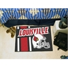 "FANMATS Louisville Uniform Inspired Starter Rug 19""x30"""