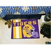 "FANMATS Louisiana State Uniform Inspired Starter Rug 19""x30"""