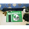 "FANMATS Marshall Uniform Inspired Starter Rug 19""x30"""