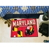 "FANMATS Maryland Uniform Inspired Starter Rug 19""x30"""