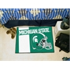 "FANMATS Michigan State Uniform Inspired Starter Rug 19""x30"""