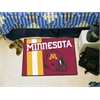 "FANMATS Minnesota Uniform Inspired Starter Rug 19""x30"""